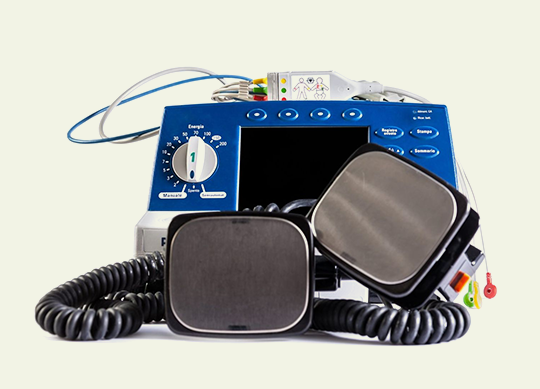 Defibrillators with Euromedical